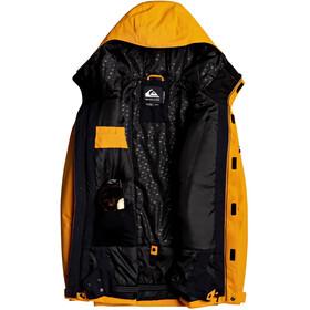 Quiksilver Mission Solid Snowboard Jacket Men flame orange